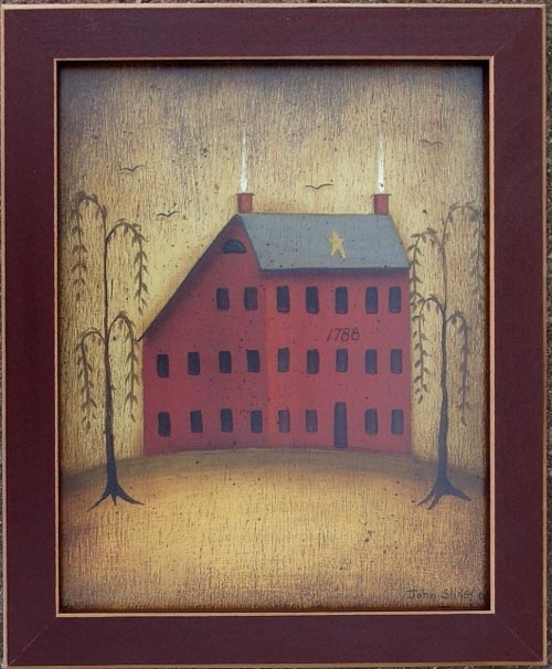 Featured Photo of Framed Folk Art Prints