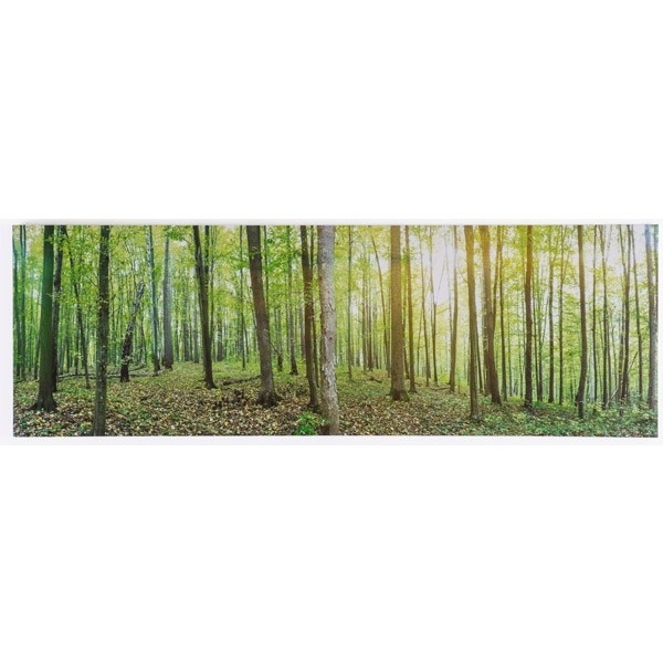 Forest Canvas Print With Calgary Canvas Wall Art (Image 10 of 15)