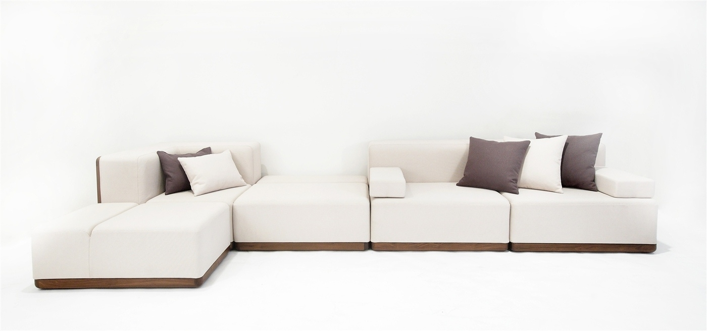 Foundry Shell | Felix Low | Sofas & Couches | Woont – Love Your Home Throughout Low Sofas (Image 2 of 10)
