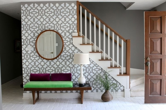 Foyer Accent Wall – Trgn #18Ec64Bf2521 Within Entryway Wall Accents (View 4 of 15)