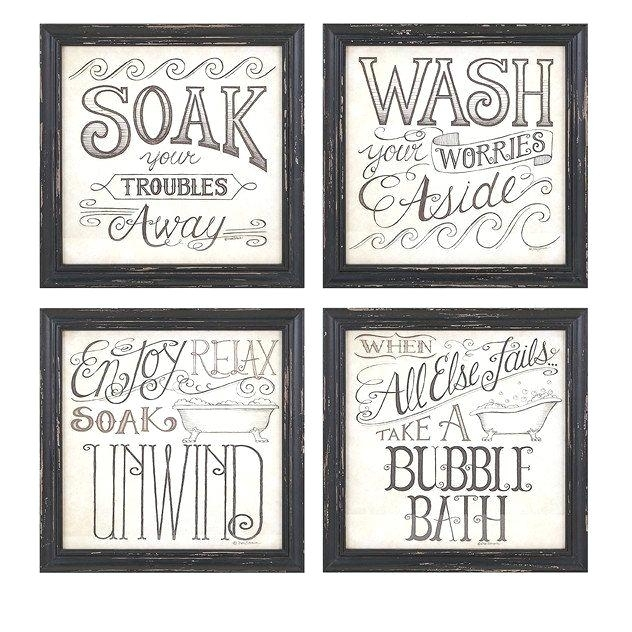 Framed Art For Bathroom Walls Details Give Your Bathroom A Fun For Framed Art Prints For Bathroom (View 6 of 15)