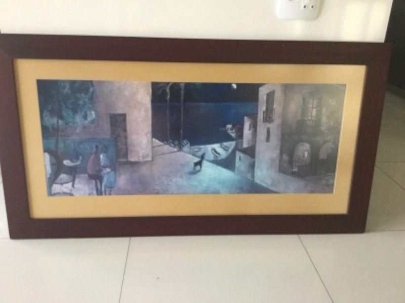 Framed Art Prints. Selection. Make An Offer (Image 12 of 15)