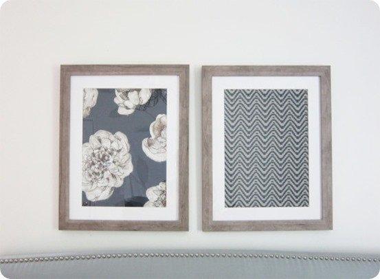 Framed Fabric Wall Art Inside Fabric Wall Art Frames (Image 7 of 15)