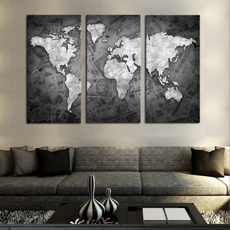 Featured Image of Grey Canvas Wall Art