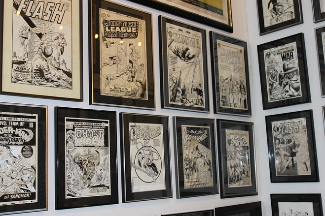 Framing My Comic Prints Posters And Comic Book Community Art Throughout Framed Comic Art Prints (Image 7 of 15)