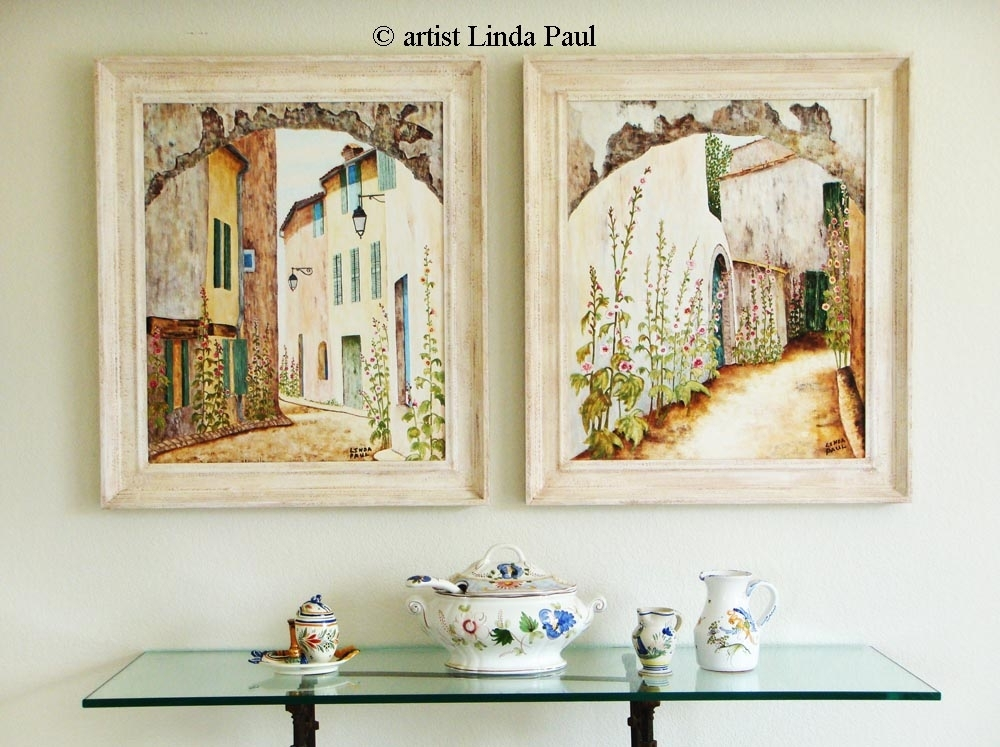 French Country Art Paintings – Artwork For Sale Regarding Framed Country Art Prints (Image 12 of 15)