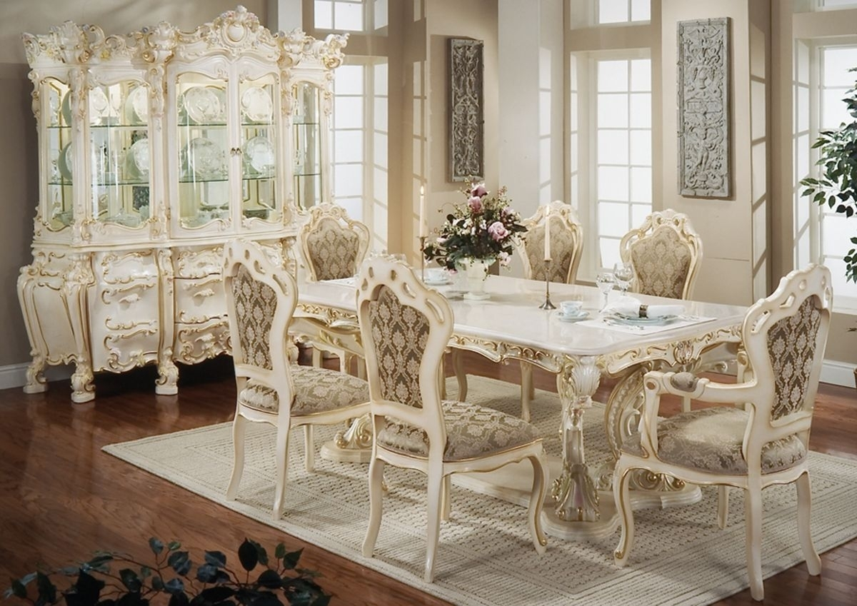 French Furniture Art – French Furniture Is A Trend To Decorate Your Inside Sofa Chairs With Dining Table (View 9 of 10)