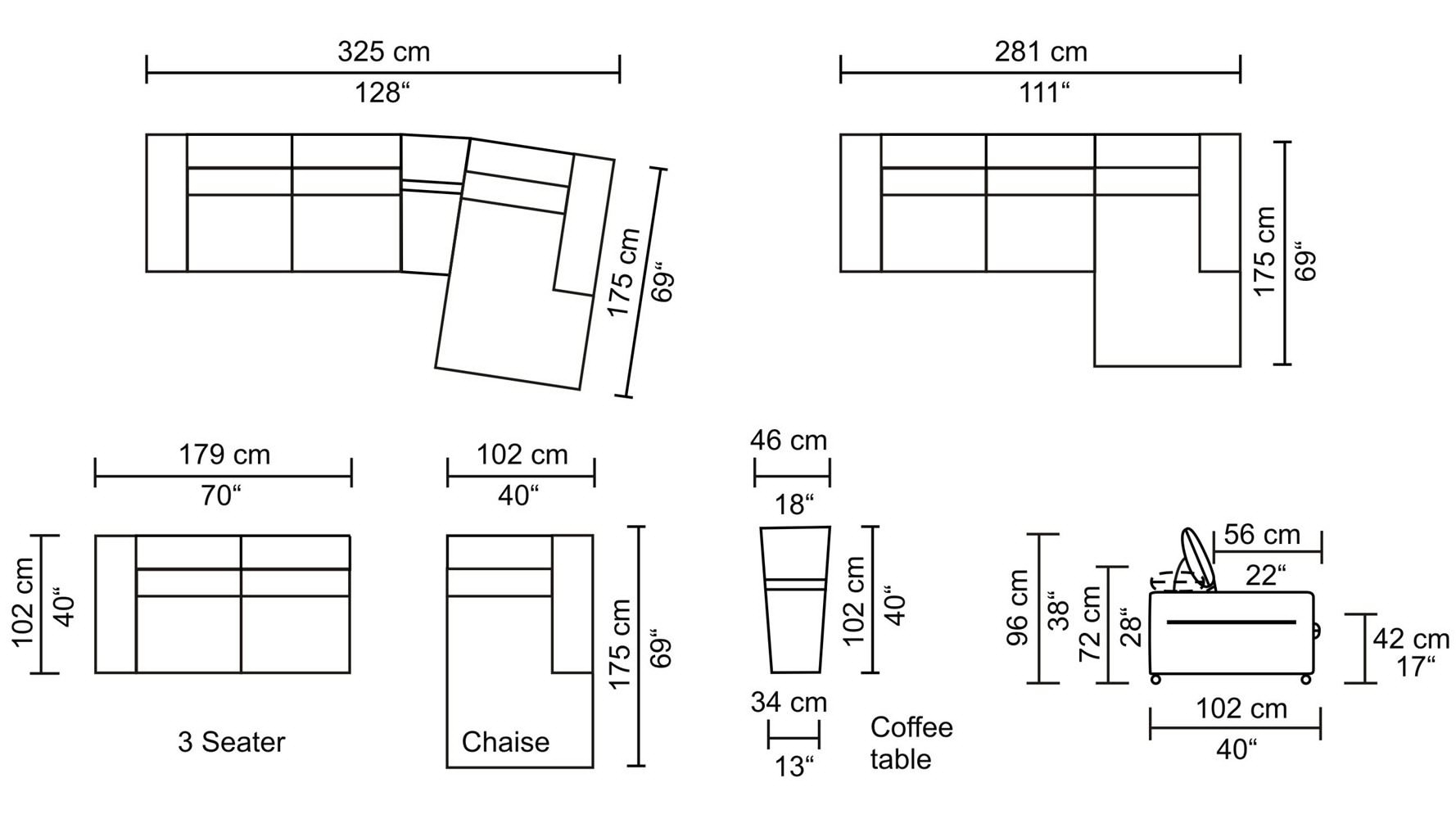 Fresh Sectional Sofa Dimensions Standard 52 For Sectional Sofas Okc For Sectional Sofas By Size (View 2 of 10)