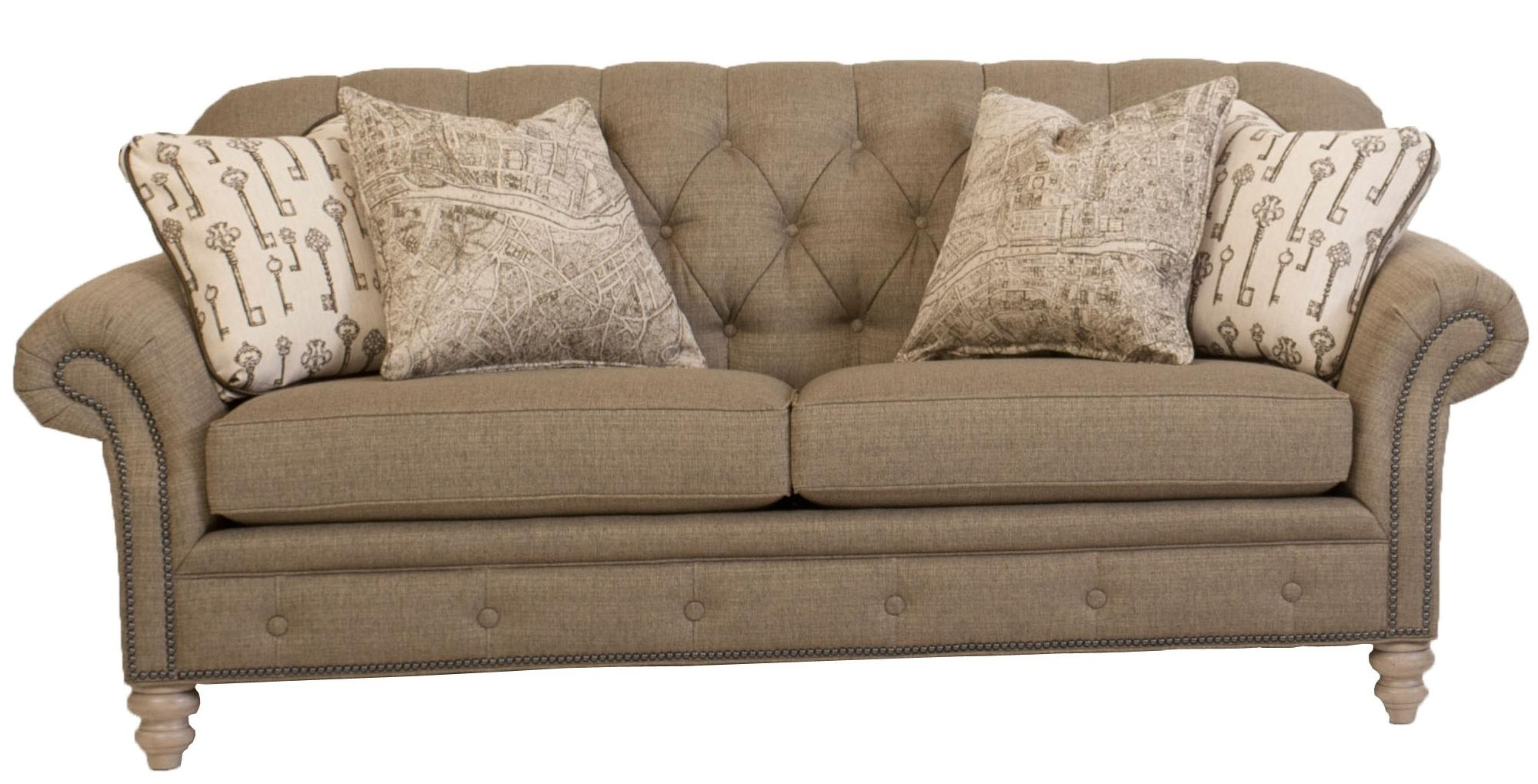 Fresh Sectional Sofa With Nailhead Trim 64 For Your Sofas And Pertaining To Sectional Sofas With Nailheads (Image 4 of 10)