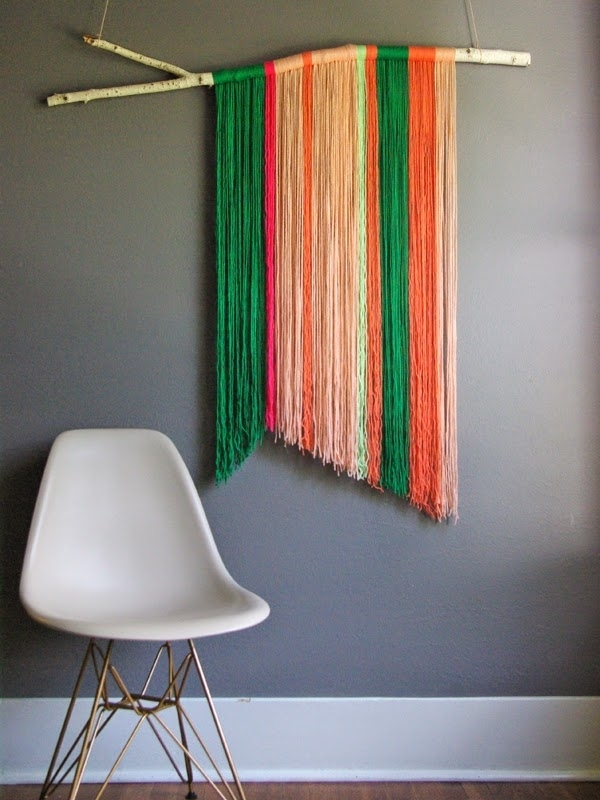 Fringe Yarn Art | Yarns, Palm And Wall Hangings With Regard To Rustic Fabric Wall Art (View 7 of 15)