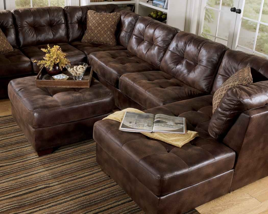 Frontier – Canyon Faux Leather Sectional | Wholesale Furniture For Sectional Sofas At Chicago (View 3 of 10)