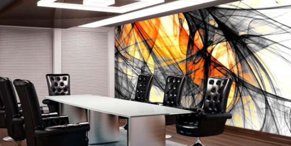 Funky Office Wall Art Design 3 | Office Wall Art | Pinterest With Abstract Office Wall Art (View 3 of 15)