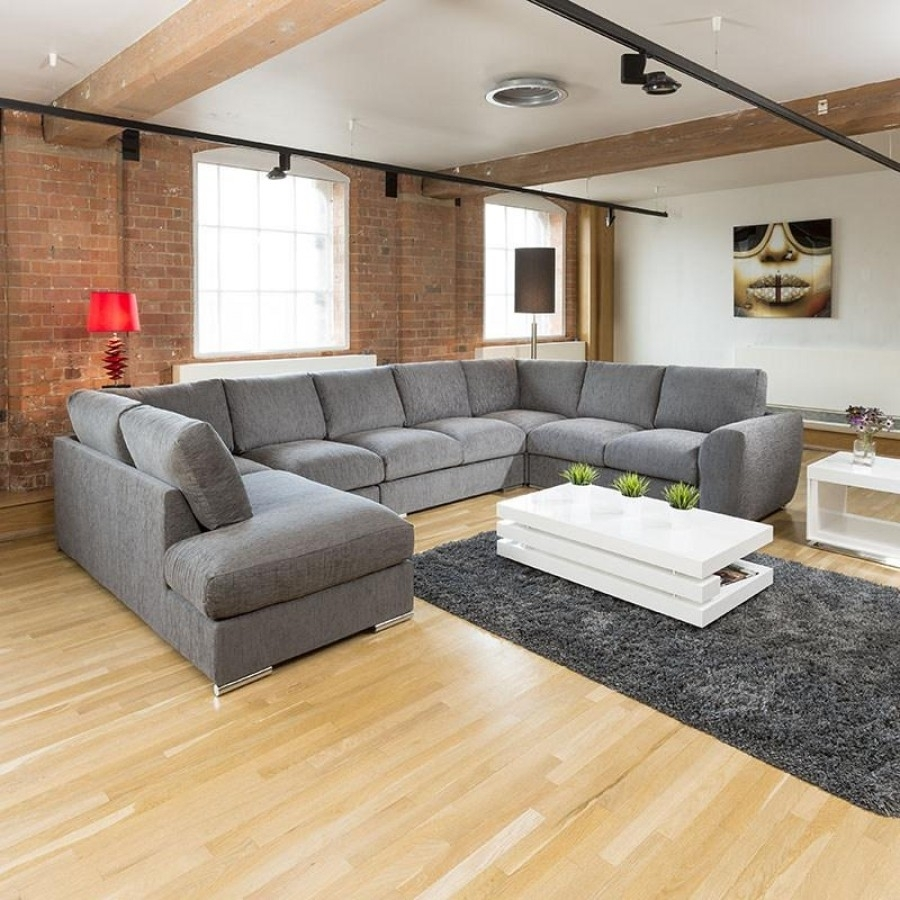 Furniture : 2 Seater Sofa Throw Corner Sofa Or Two Sofas L Shaped For Big U Shaped Couches (View 7 of 10)