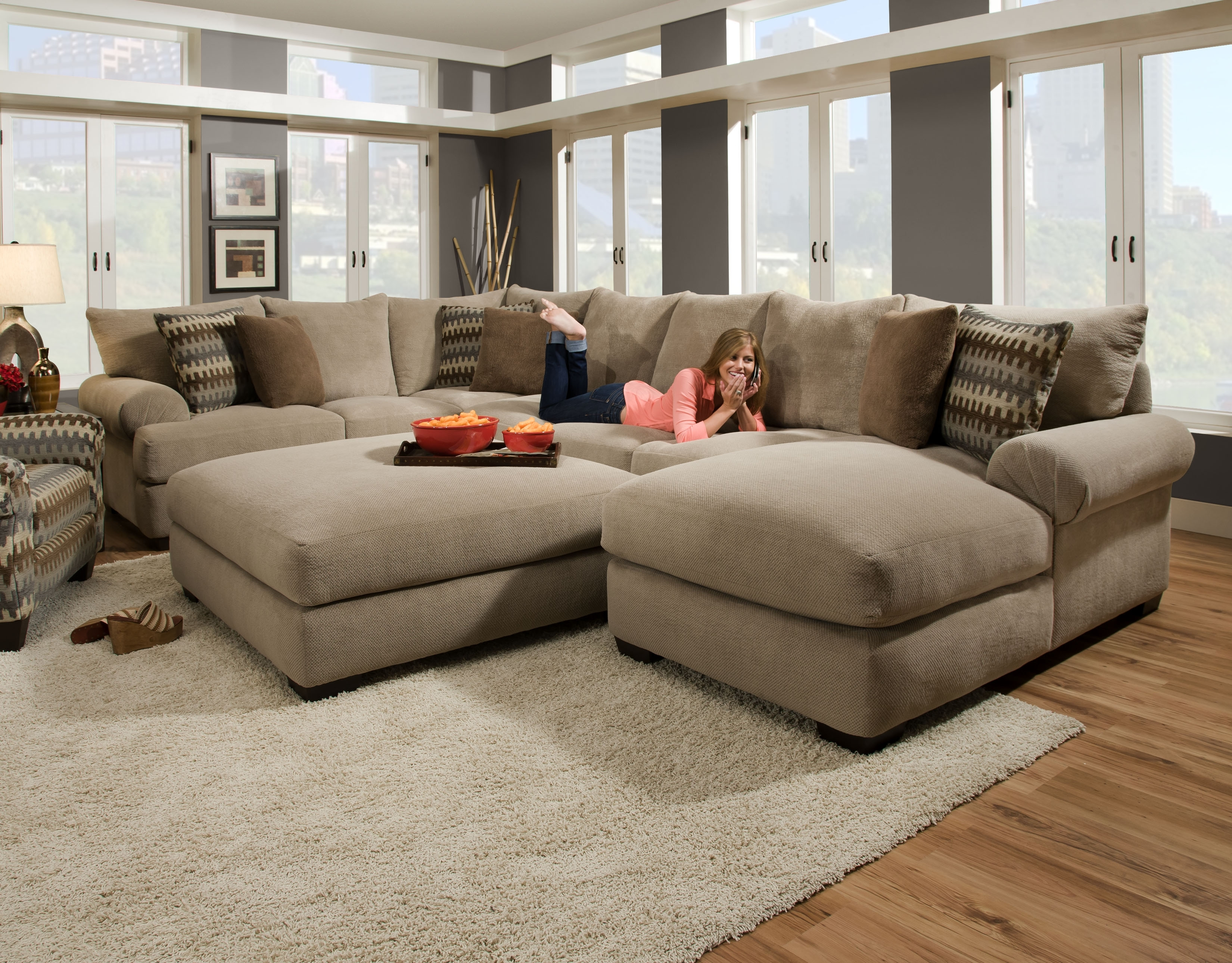 Furniture: American Freight Sectionals For Luxury Living Room Sofas With Pensacola Fl Sectional Sofas (Image 4 of 10)