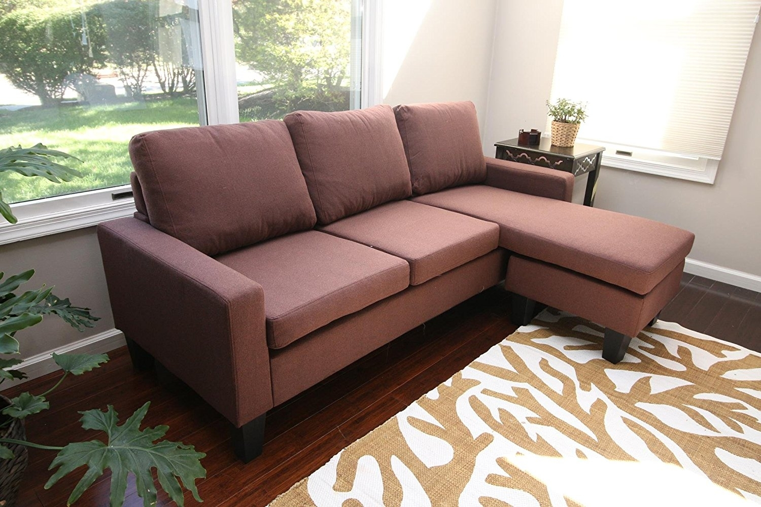 Featured Photo of 110X110 Sectional Sofas