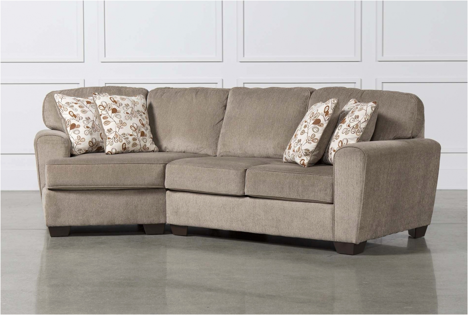 Furniture: Fresh Sectional Sofa With Cuddler Chaise New – Sofa Regarding Living Spaces Sectional Sofas (View 6 of 10)