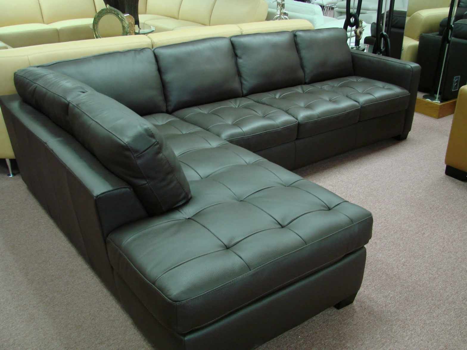 Furniture: Furniture: Havertys Leather Sectional | Havertys Sofas Within Sectional Sofas At Havertys (Image 5 of 10)