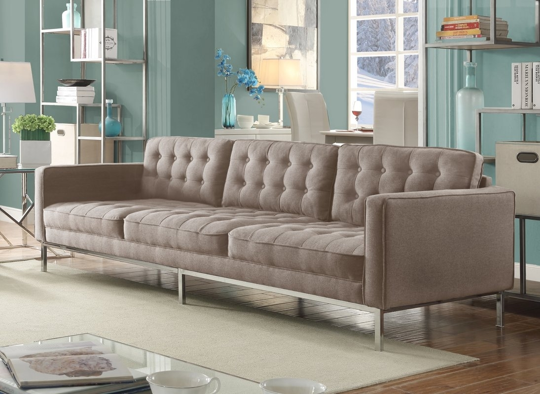Furniture : Green Tufted Chaise Lounge Furniture Making Ottawa Throughout Kitchener Sectional Sofas (View 2 of 10)