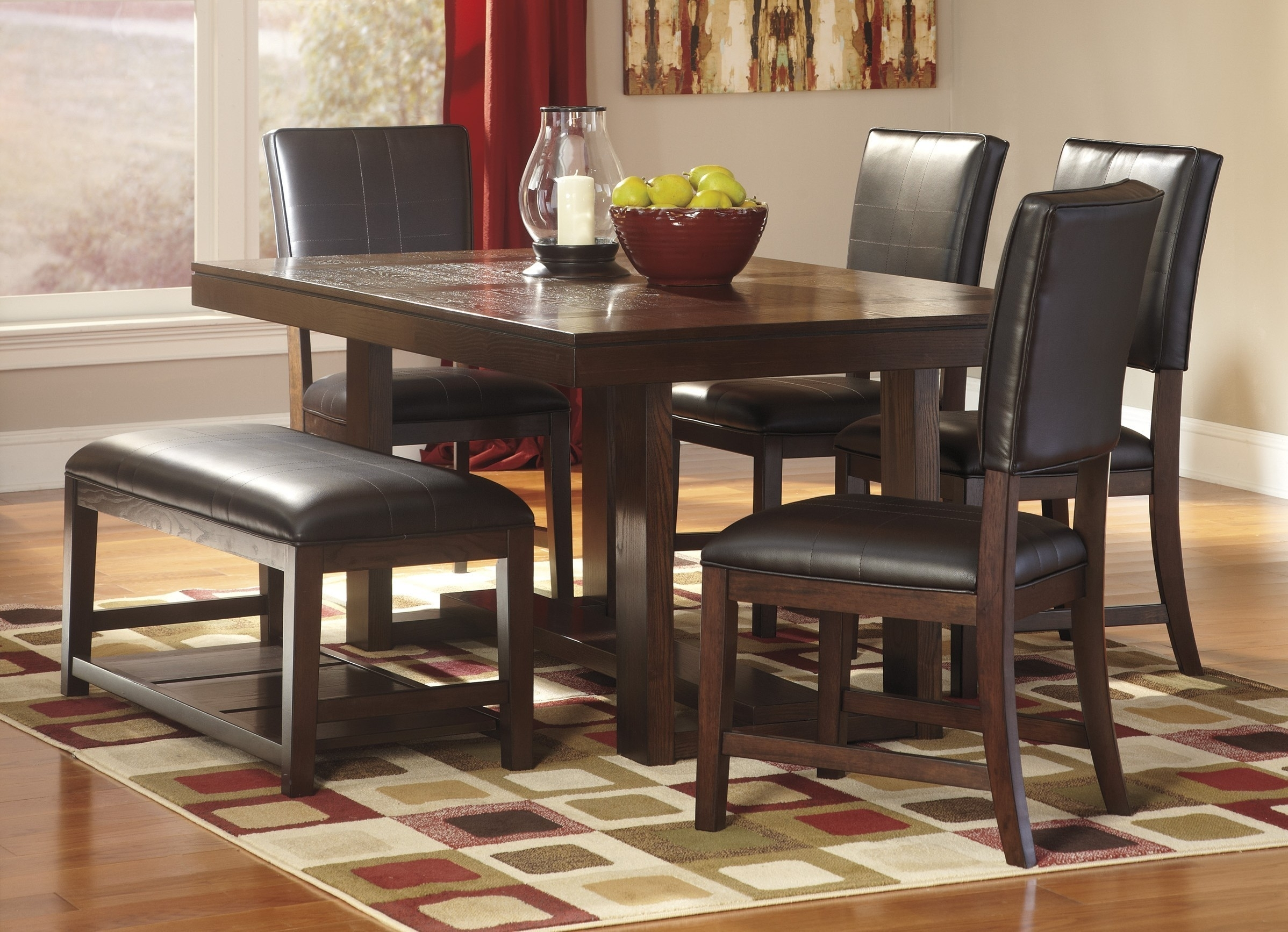 Furniture : Ideas Collection Ashley Furniture Dining Room Sets For For Sofa Chairs With Dining Table (Image 6 of 10)