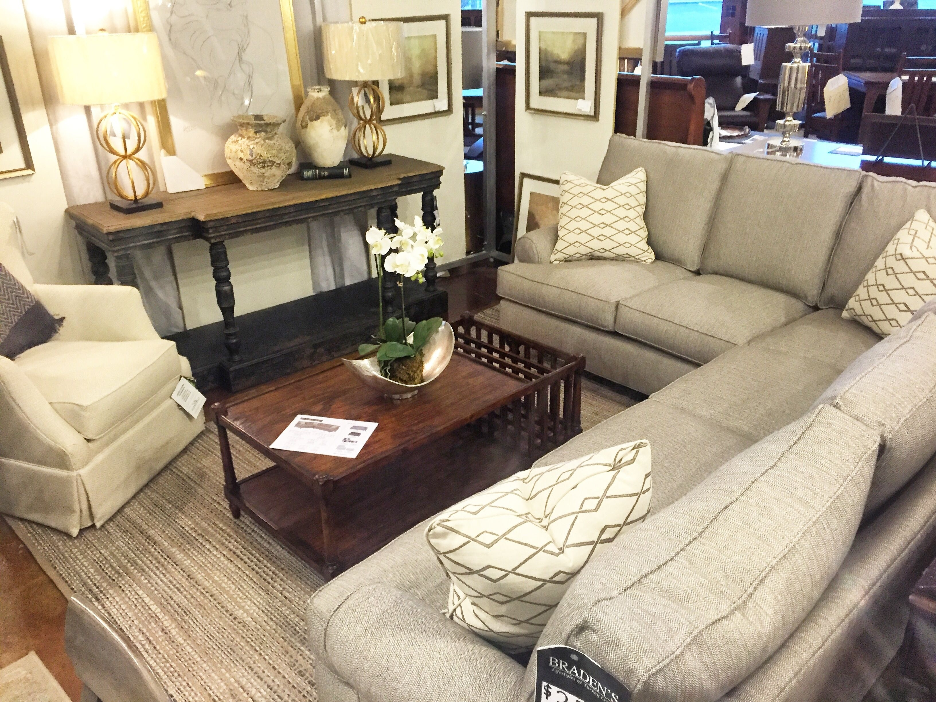 Furniture In Knoxville, Tn – Braden's Lifestyles Furniture – Home Inside Knoxville Tn Sectional Sofas (Image 7 of 10)