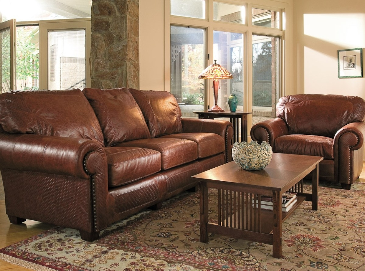 Furniture : Lovely Custom Leather Sectional Sofa 12 For Your In Kitchener Sectional Sofas (View 5 of 10)