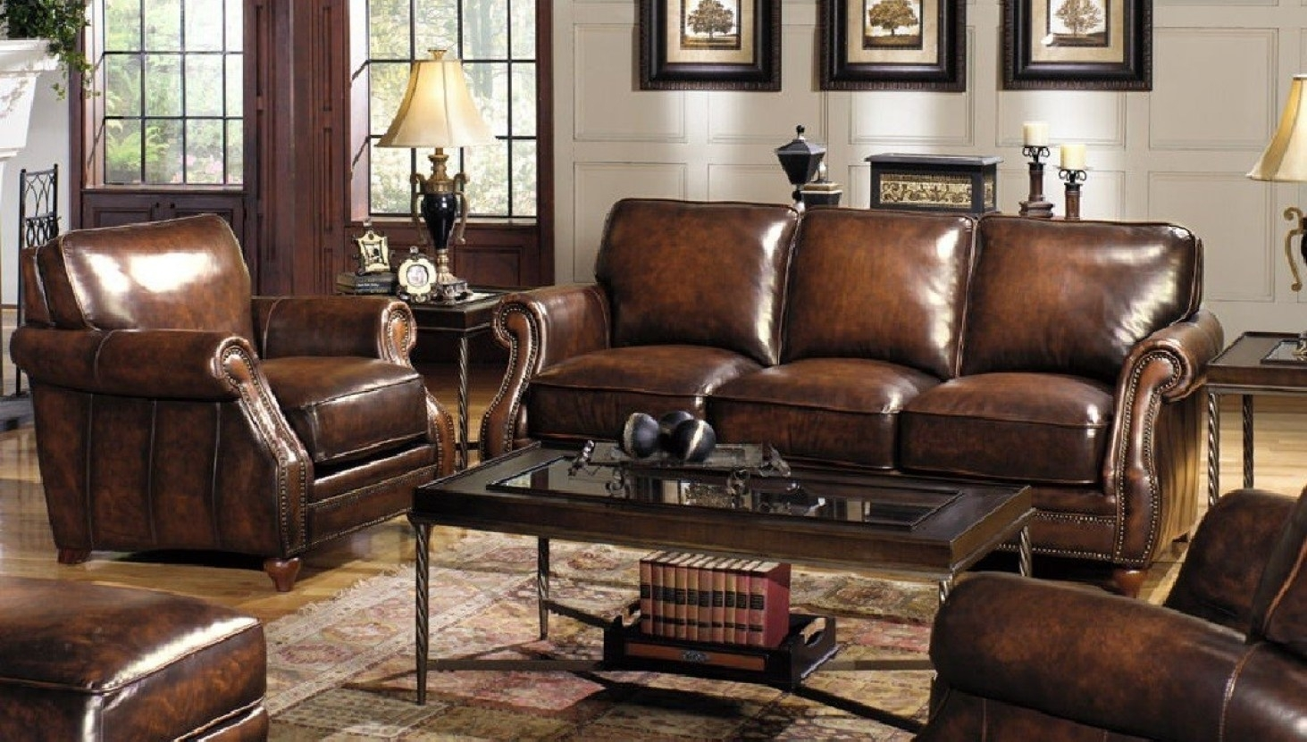 Furniture : Lovely Custom Leather Sectional Sofa 12 For Your Inside Kitchener Sectional Sofas (View 3 of 10)
