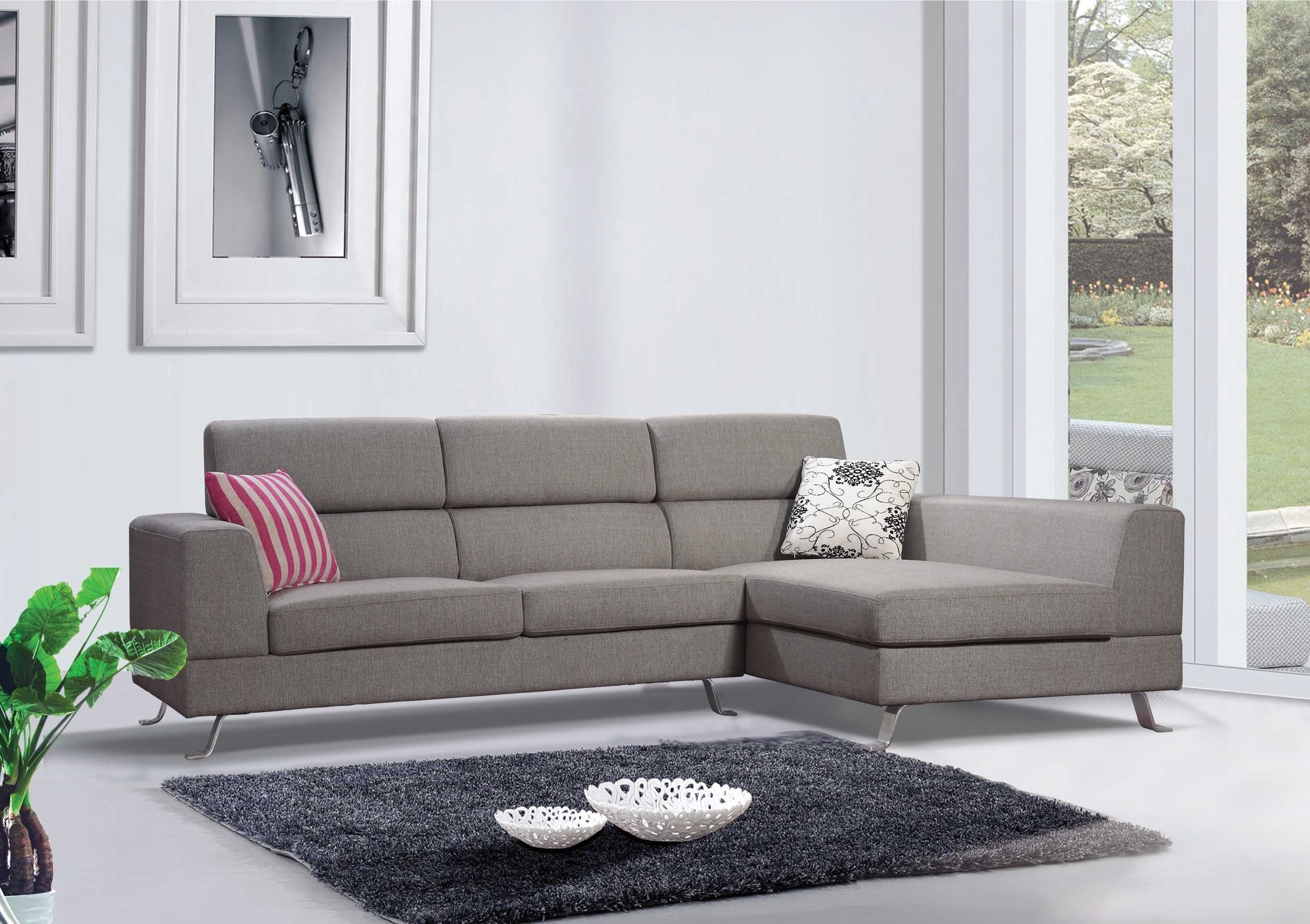 Furniture : Microfiber Costco Sectional Sofa Furnitures Intended For 100X100 Sectional Sofas (Image 3 of 10)
