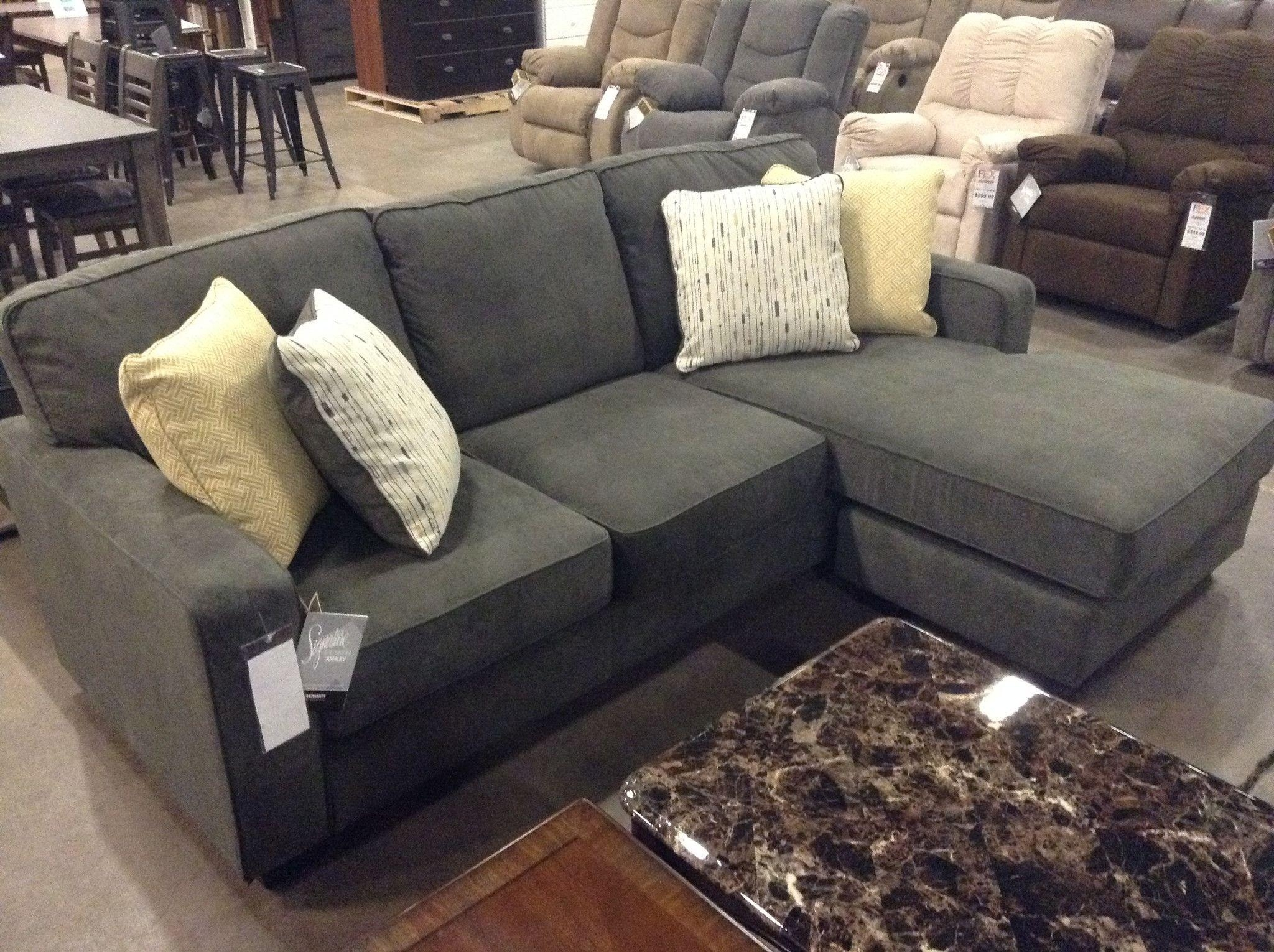 Furniture : Sectional Couch Costco Unique Dark Gray Shayla Sofa Intended For Virginia Beach Sectional Sofas (Image 7 of 10)