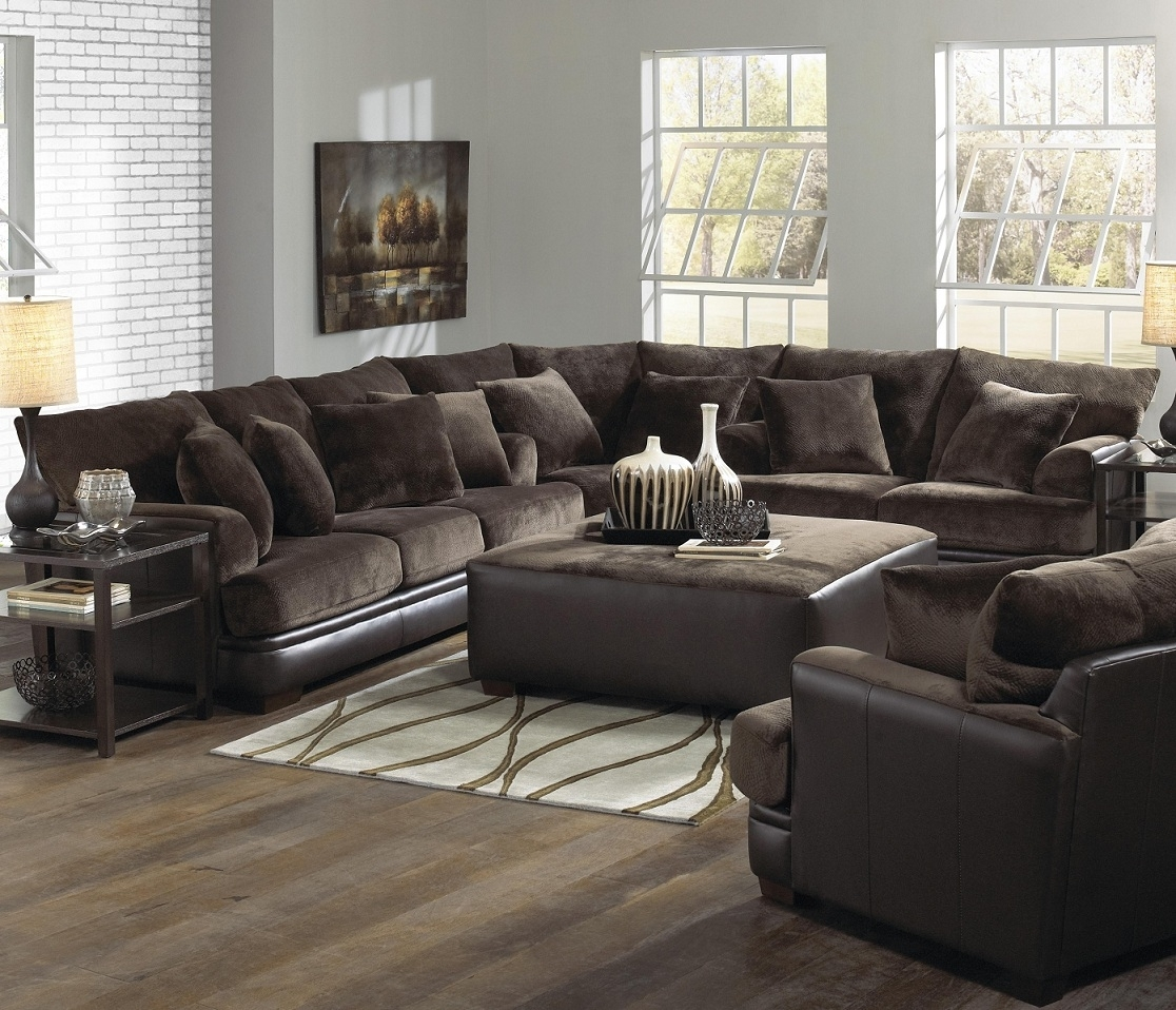 Furniture : Sectional Sofa Connectors Brown Leather Sectional Corner Pertaining To Jacksonville Fl Sectional Sofas (Image 1 of 10)