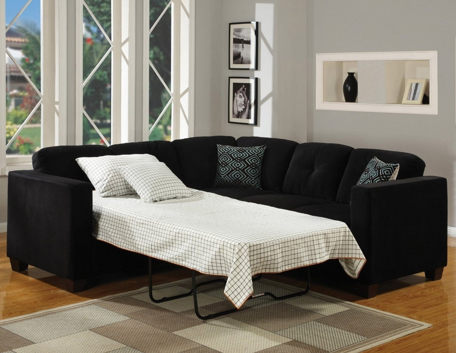 Furniture : Sectional Too Large For Room L Shaped Couch Leather With 100X100 Sectional Sofas (Image 7 of 10)