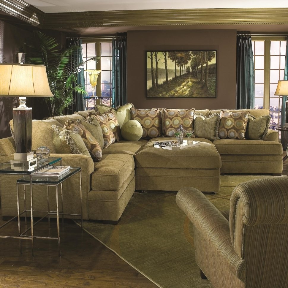 Furniture : Sectional With Chaise Oversized Sectionals Large Sofas With Sectionals With Oversized Ottoman (Image 2 of 10)