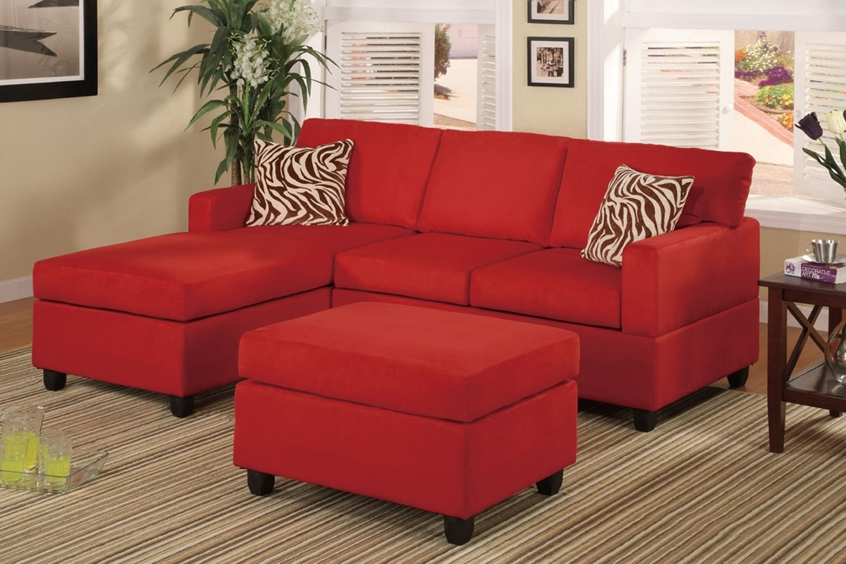 Furniture Stores Kent | Cheap Furniture Tacoma | Lynnwood Regarding Red Sectional Sofas With Ottoman (Image 4 of 10)
