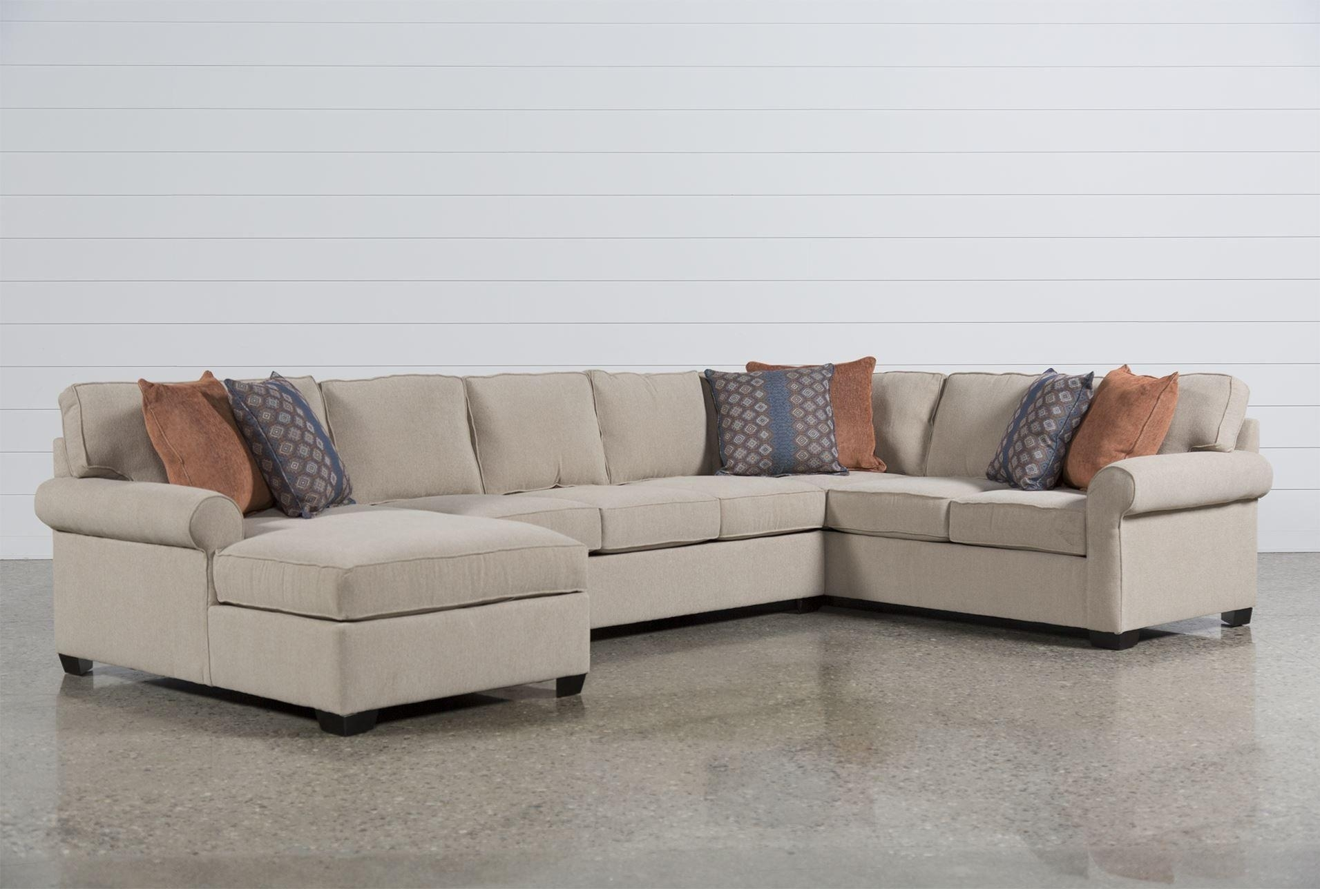 Furniture : Target Loveseat Unique Glamour Ii 3 Piece Sectional Intended For Target Sectional Sofas (Image 4 of 10)