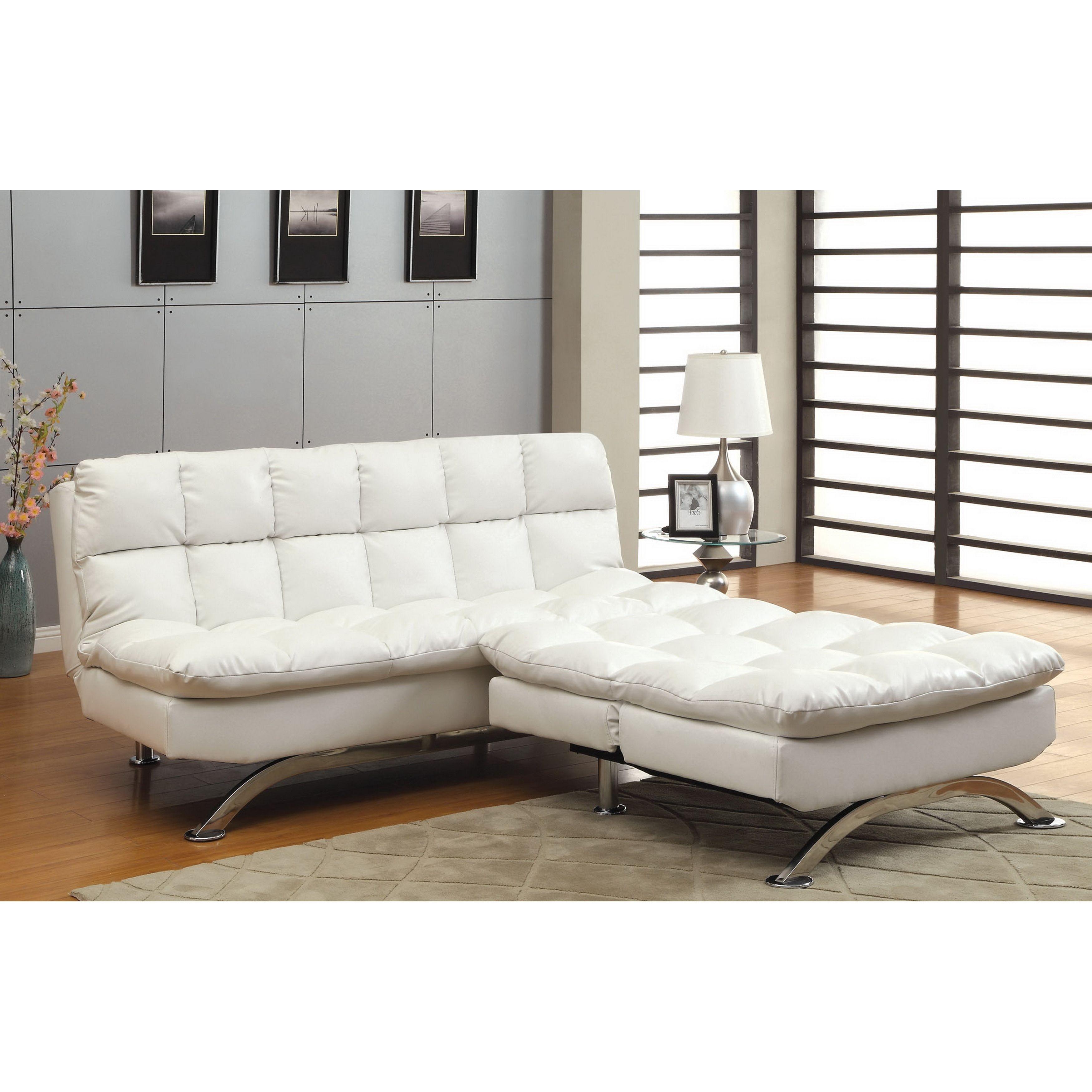 Futon Sofa Home Decor Furniture Modern Tufted Jamaica Convertible Regarding Jamaica Sectional Sofas (Image 3 of 10)