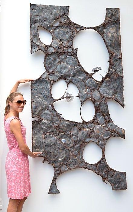 Gahr | Abstract Metal Wall Sculpture | Art | Pinterest | Wall With Abstract Metal Wall Art Sculptures (View 4 of 15)
