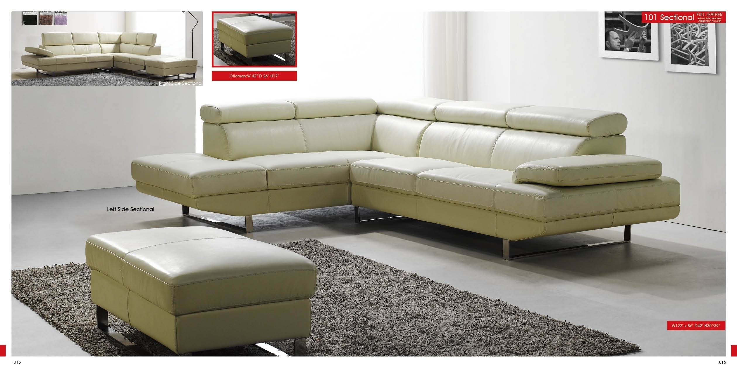 Featured Image of Sleek Sectional Sofas