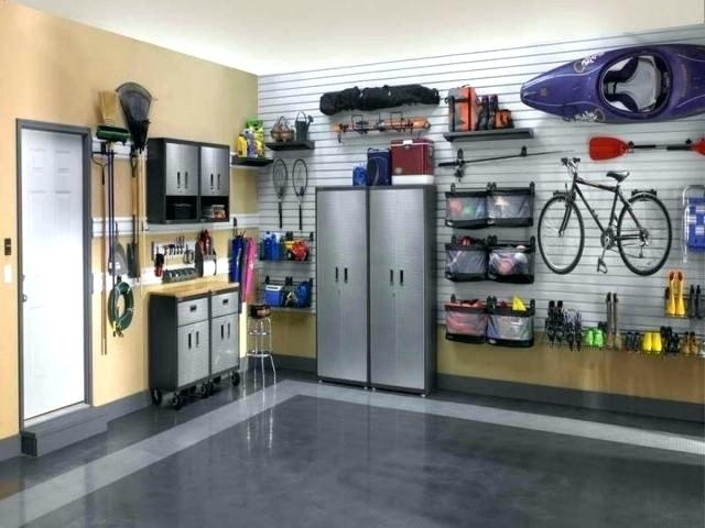 Garage Walls Garage Wall Finishing Ideas Garage Walls Insulation With Regard To Garage Wall Accents (View 14 of 15)