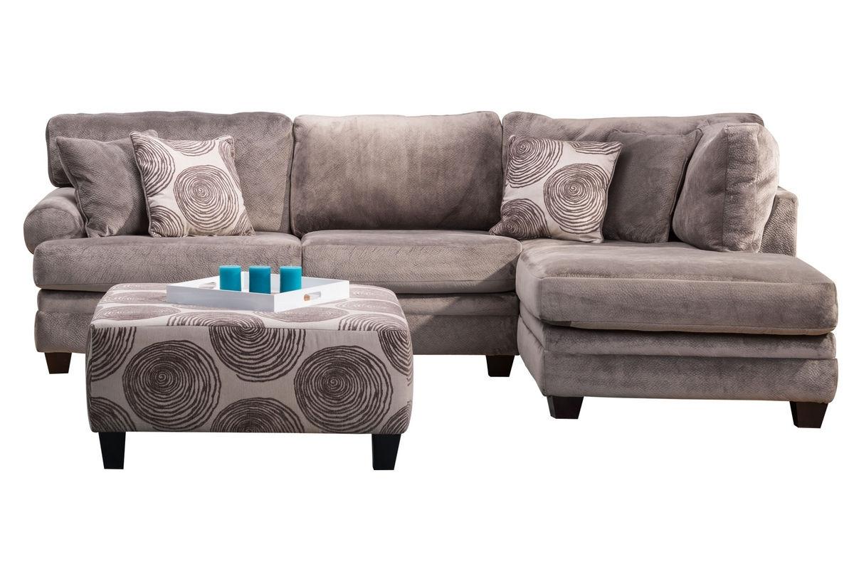 Gaylord Microfiber Sectional At Gardner White Throughout Gardner White Sectional Sofas (Image 5 of 10)
