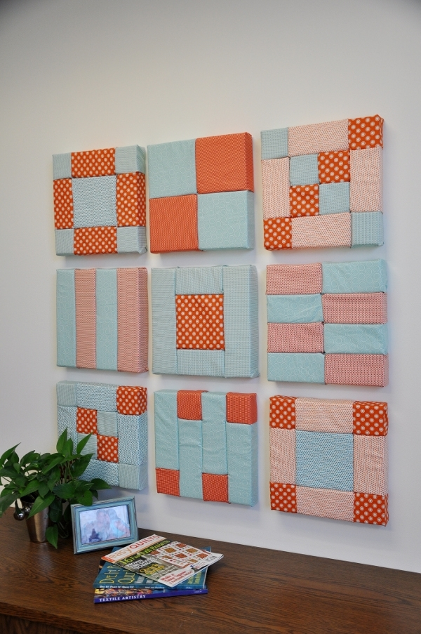 Geometric Fabric Wall Art | Favecrafts For Geometric Fabric Wall Art (View 7 of 15)