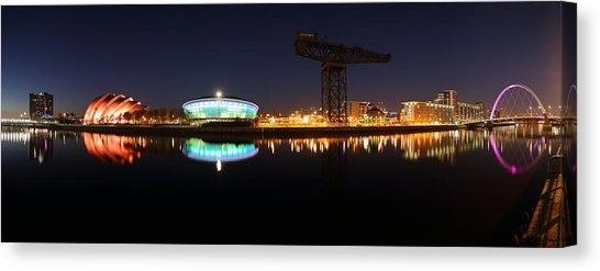 Glasgow Bridge Canvas Prints | Fine Art America With Regard To Glasgow Canvas Wall Art (View 5 of 15)