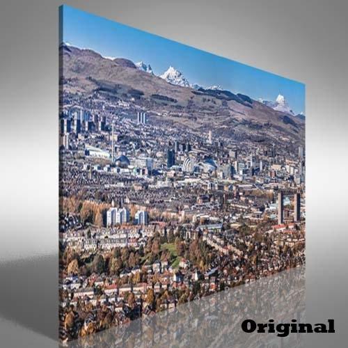 Glasgow City Skyline Canvas Print Large Picture Wall Art | Ebay In Glasgow Canvas Wall Art (View 4 of 15)
