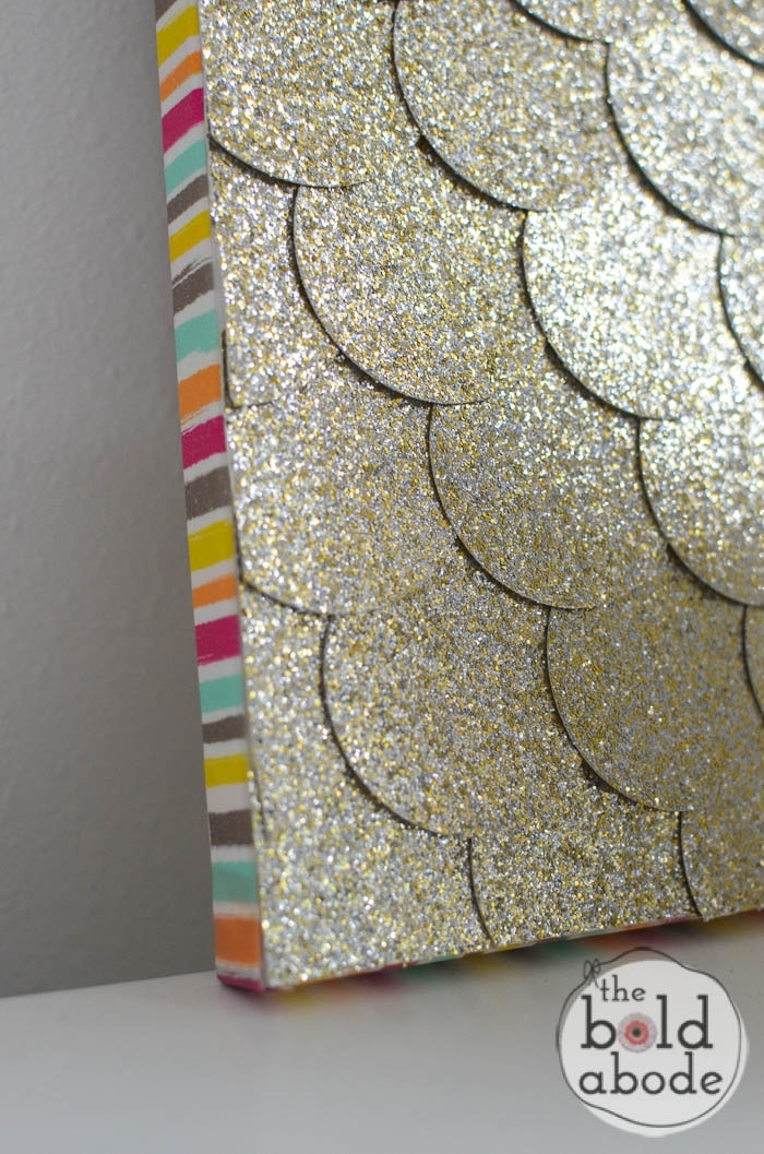 Glitter Dot Wall Art With Glitter Canvas Wall Art (View 8 of 15)