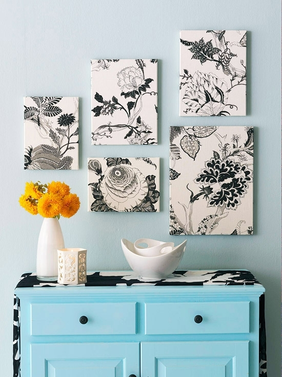 Go From Blank To Beautiful With Fabric Wall Art – Modernize In Creative Fabric Wall Art (View 7 of 15)