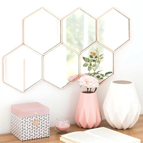 Gold Accent Wall Decor Rose Gold Wall Decor Shock Best Copper And Pertaining To Gold Wall Accents (Image 6 of 15)