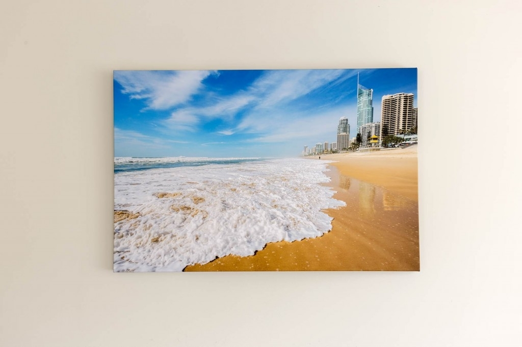 Gold Coast Printing And Framing Bostocks Photography Custom Canvas With Gold Coast Framed Art Prints (Image 14 of 15)