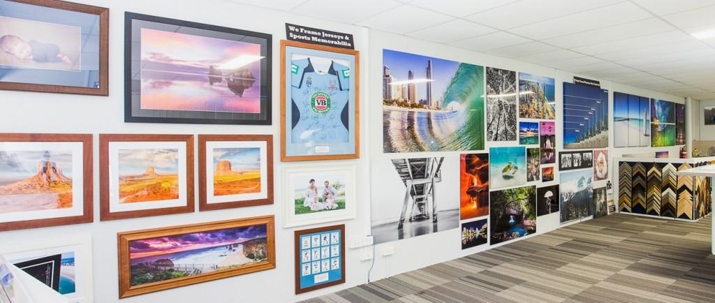 Gold Coast Printing And Framing Jon Wright Photography Showroom Inside Gold Coast Framed Art Prints (Image 15 of 15)