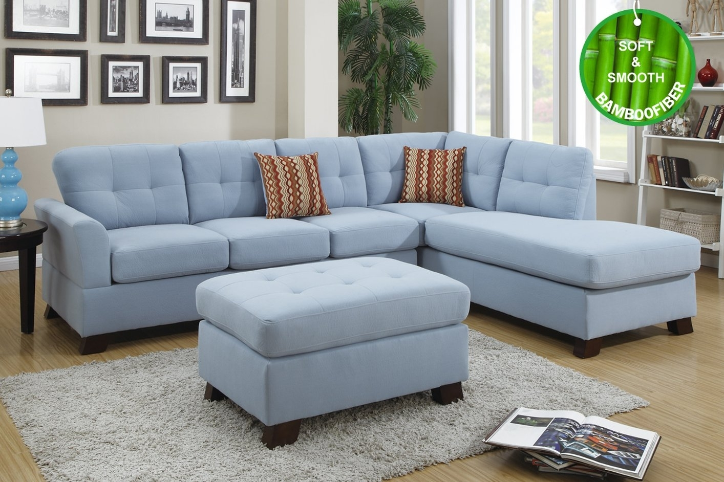 Good Blue Sectional Sofa 45 Modern Sofa Inspiration With Blue Regarding Blue Sectional Sofas (View 7 of 10)