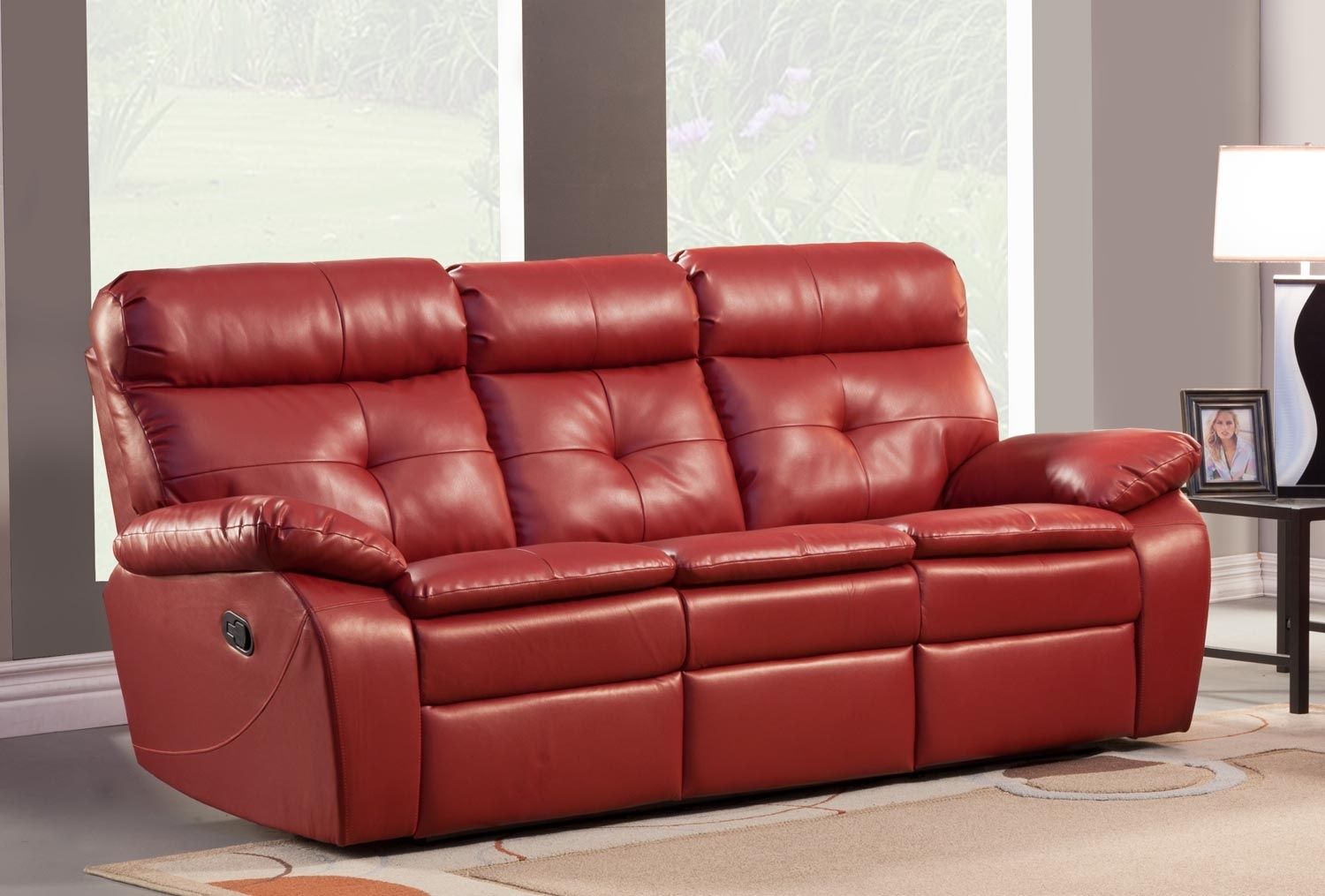 Good Red Leather Reclining Sofa And Loveseat 39 On Sofas And Couches In Red Leather Reclining Sofas And Loveseats (Image 2 of 10)