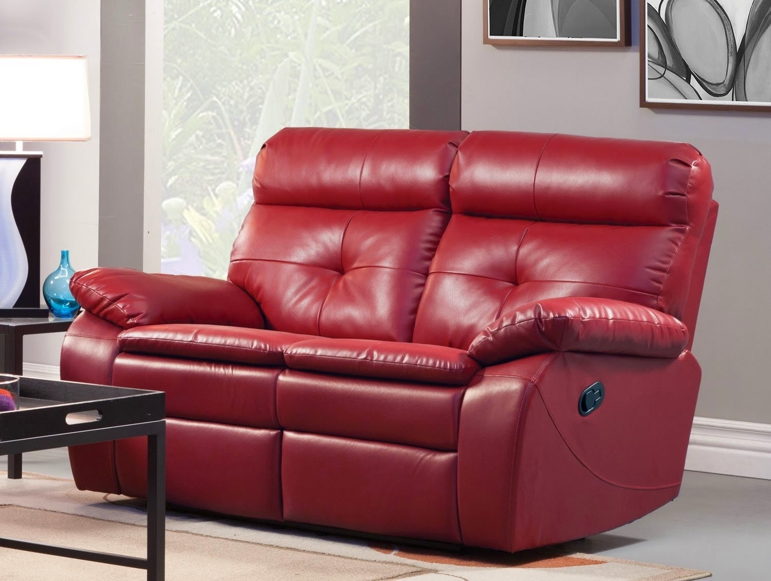 Good Red Leather Reclining Sofa And Loveseat 71 Sofa Design Ideas For Red Leather Reclining Sofas And Loveseats (View 6 of 10)