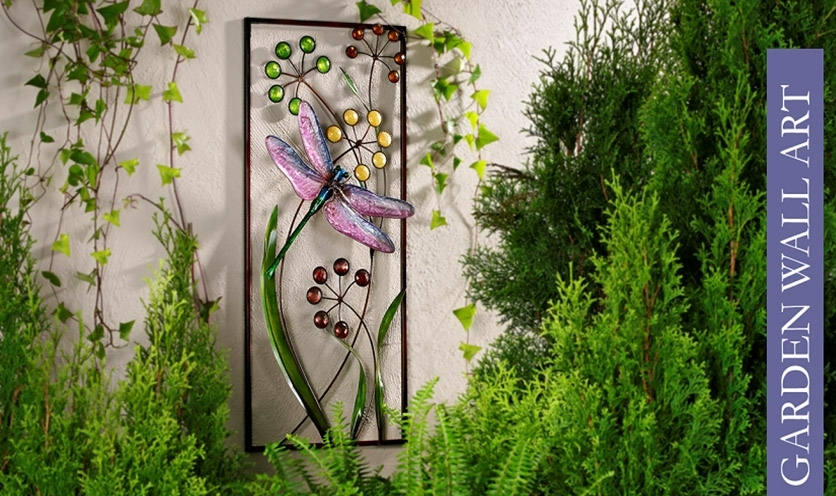 Gorgeous Wall Decor Garden Wall Decor Tips Outside Wall Within Garden Wall Accents (Image 9 of 15)